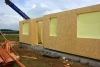 z výstavby - montáž stěn