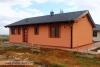 hotový dům s osazenými venkovními světly