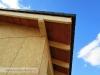 pokládka střešní krytiny, podbití (výstavba dřevostavby na klíč - Hradec Králové, Stěžírky)