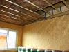 zateplování podhledů (výstavba dřevostavby na klíč - Hradec Králové, Stěžírky)