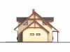 Podkrovní dřevostavba s garáží Hit 1 Plus