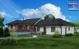 Nový úsporný dům 4+kk na Jižním svahu, Vysoká nad Labem