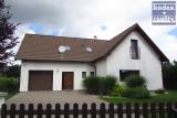 Zděný podkrovní dům 6+kk s garáží a terasou, Vysoká nad Labem