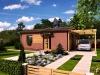 projekt dřevostavby na klíč - bungalov Studio A