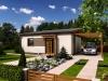 projekt dřevostavby na klíč - bungalov Studio B
